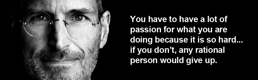 Steve Jobs Quotes About Passion