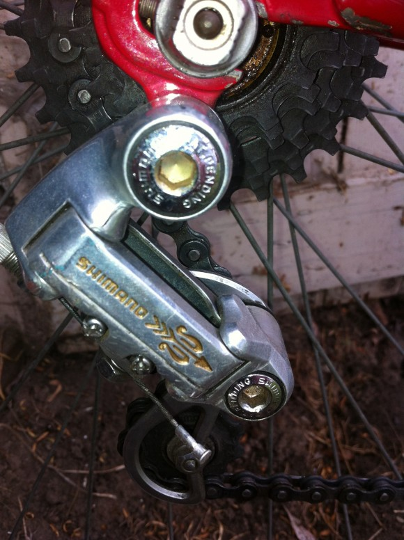 Shimano Golden Arrow shifters