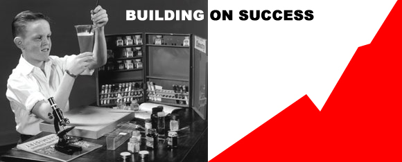 building a business on success