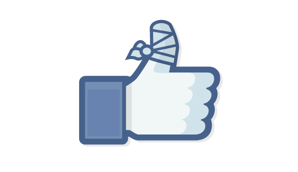 Facebook likes broken