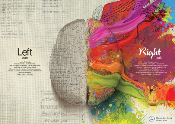 Left Brain Right Brain (Mercedes-Benz Ad)