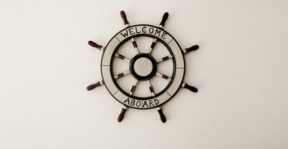 Ship wheel steer your startup