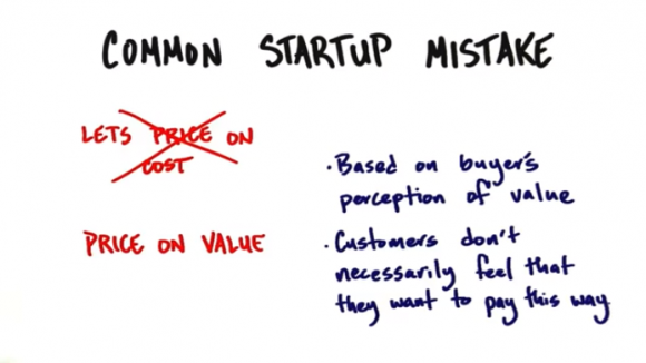 Common startup pricing mistake