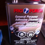 Pro Form general purpose adhesive cleaner