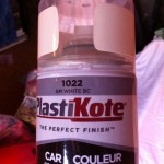 PlasticKote base coat for diy paint project