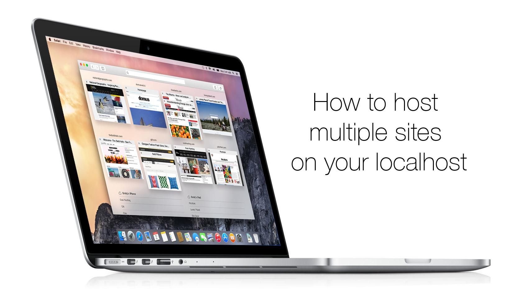 Mac host environment