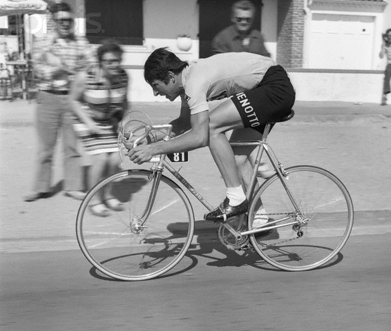 Francesco Moser in 1975 Tour de France