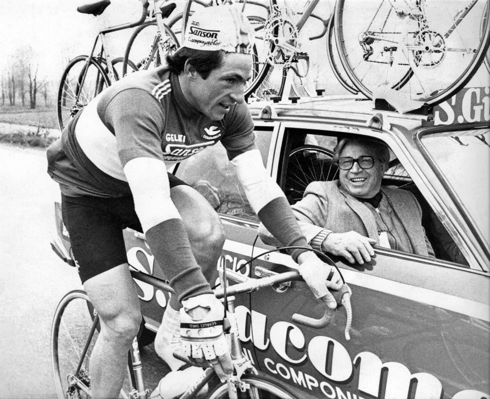 Moser with Benotto
