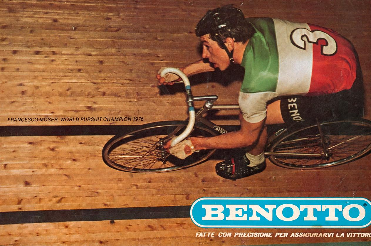 Francesco Moser Benotto Modelo 2700