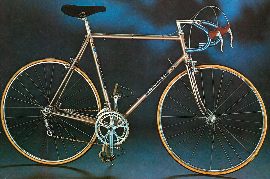 1970s Benotto Modelo 3000 roadbike
