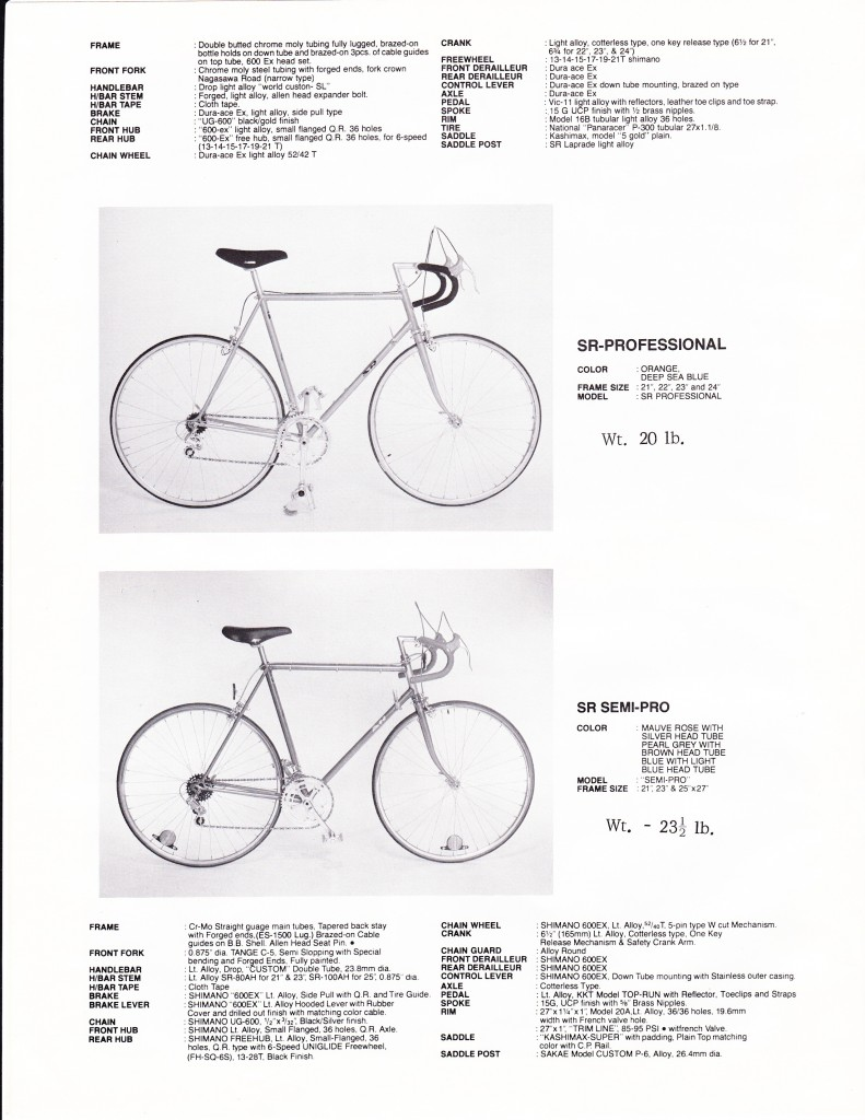 Benotto Catalogue 1979 page 10 of 12